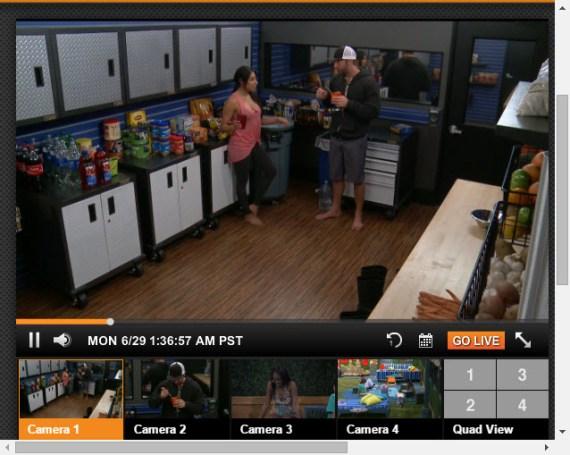 Big Brother Live Feeds 6-29-2015 1