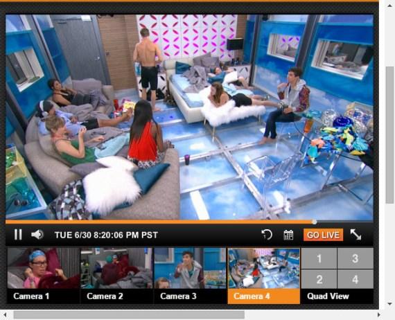 Big Brother Live Feeds 6-30-2015 1