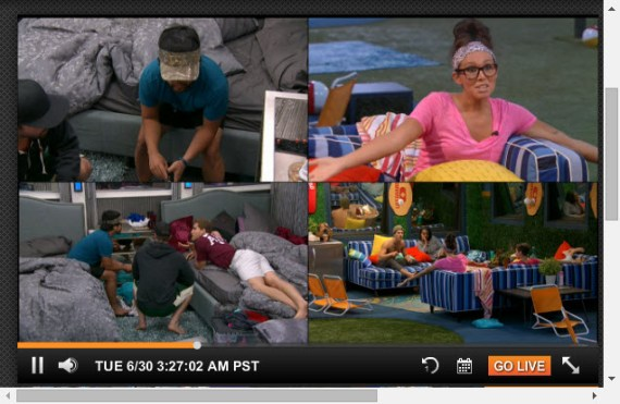 Big Brother Live Feeds 6-30-2015 (CBS)