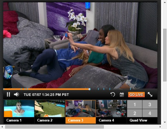Big Brother 17 Live Feeds 7-7-2015 2