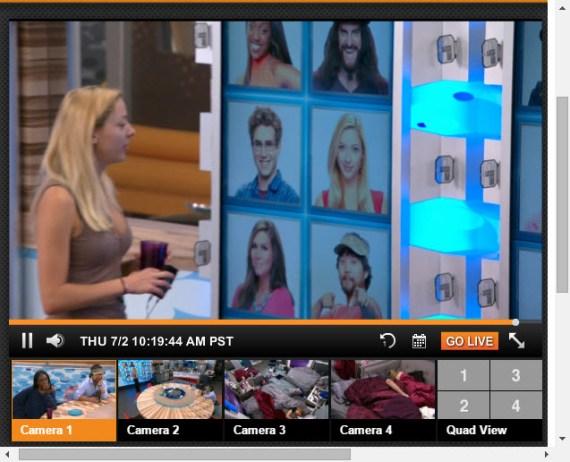 Big Brother Live Feeds 07-01-2015 1