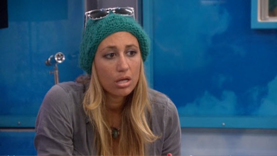 Vanessa looks as exhausted as we feel trying to keep up with these HGs (CBS)
