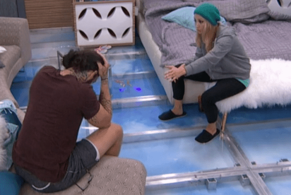 Vanessa and her Green Beanie Confronts Austin.