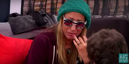 Vanessa Rousso and her crocodile tears (CBS)