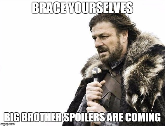 Big Brother spoilers