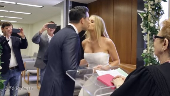 Big Brother's Jeff and Jordan get married (YouTube)