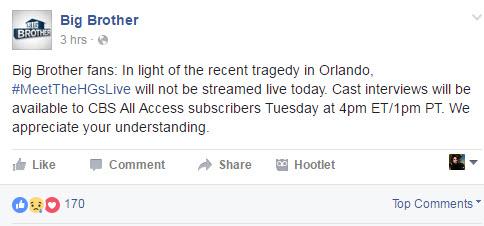 Big Brother Orlando Tragedy
