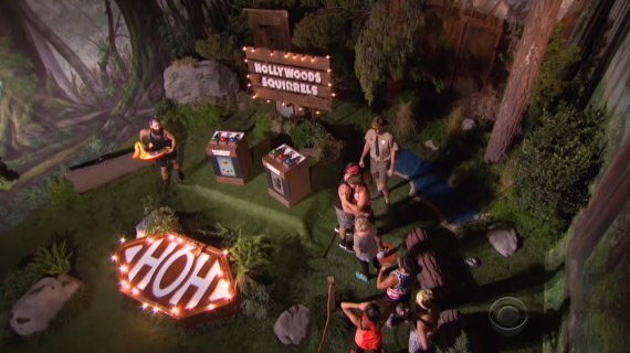 Big Brother 18-HOH comp Wk 8