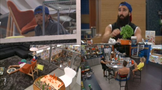 Big Brother 18-Paul Abrahamian and Nicole Franzel Argue Part 2