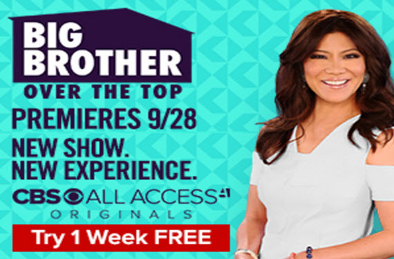 Sign up for the fall season of Big Brother & get a free week to watch!