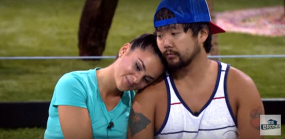 Big Brother 18's James Huling & Natalie Negrotti (CBS)