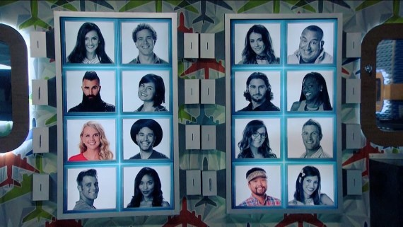 Big Brother Final Three Cast Members (Photo Courtesy of Big Brother)