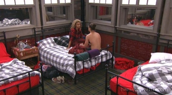 Big Brother Over the Top Shane and Danielle