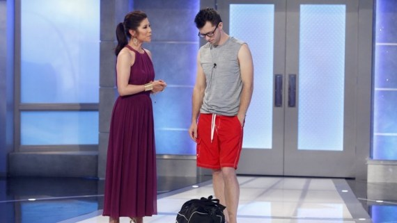 Big Brother 19 Julie Chen and Cameron Heard