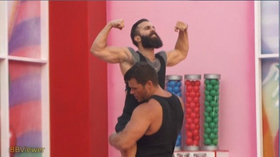 Big Brother Paul Abrahamian Celebrates