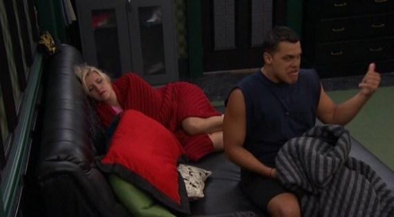 Big Brother 19 Josh Martinez and Jillian Parker