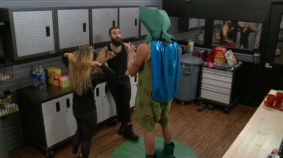Big Brother 19 Alex Ow, PAul Abrahamian, and Jason Dent