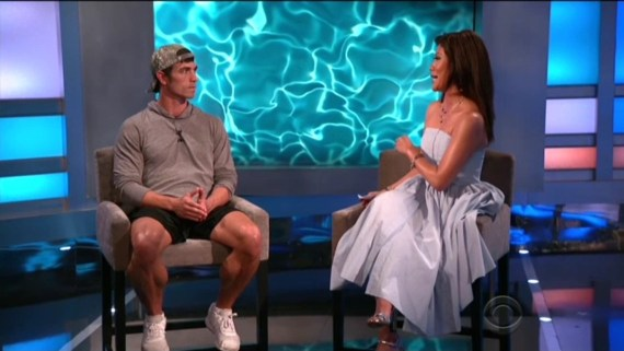 Big Brother 19 Julie Chen and Cody Nickson