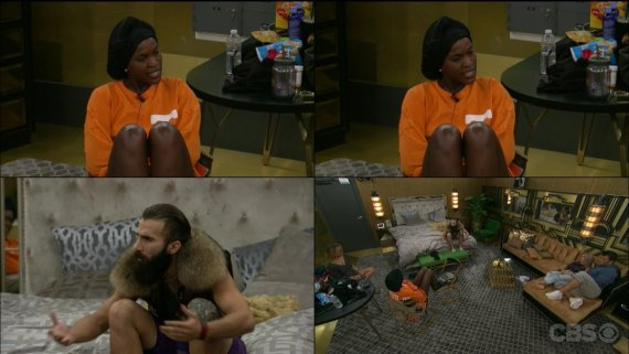Big Brother 19 Paul Abrahamian and Dominique Cooper