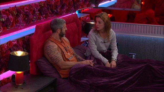 Big Brother 19 Raven Walton and Mark Clines
