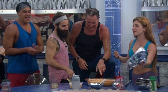 Big Brother 19 Josh Martinez, Paul Abrahamian, Kevin Schlehuber, Raven Walton