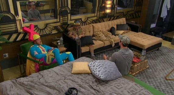 Big Brother 19 Cody Nickson, Alex Ow, and Jason Dent