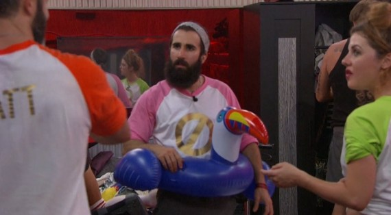 Big Brother 19 Raven Walton, Matt clines, and Paul Abrahamian