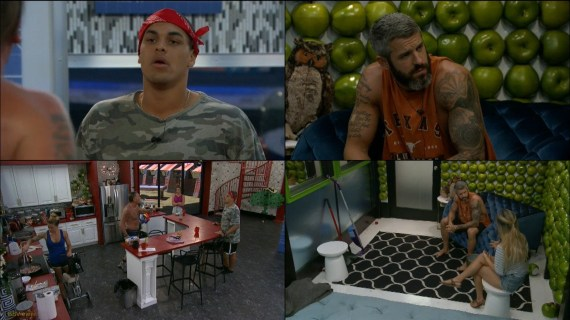 Big Brother 19 Josh Martinez and Kevin Schlehuber