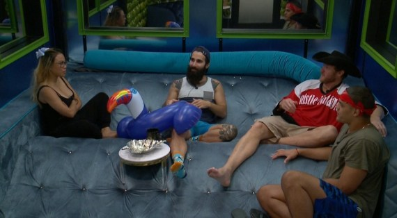 Big Brother 19, Alex Ow, Paul Abrahamian, Jason Dent, and Josh Martinez