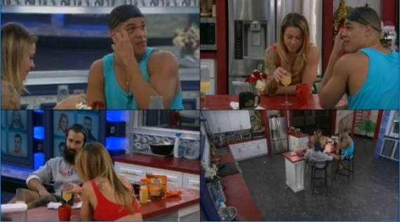 Big Brother 19 Final 3, Christmas Abbott, Josh Martinez, and Paul aBrahamian