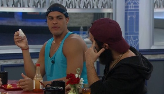 Big Brother 19 Paul Abrahamian and Josh Martinez