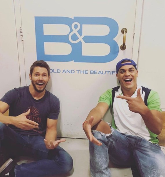 Big Brother 19 josh Martinez and Scott Clifton Bold and the Beautiful