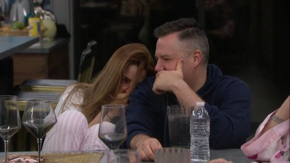 Celebrity Big Brother Ross Mathews and Ariadna Gutiérrez