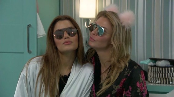 Celebrity Big Brother Ariadna Guiterrez and Brandi Glanville