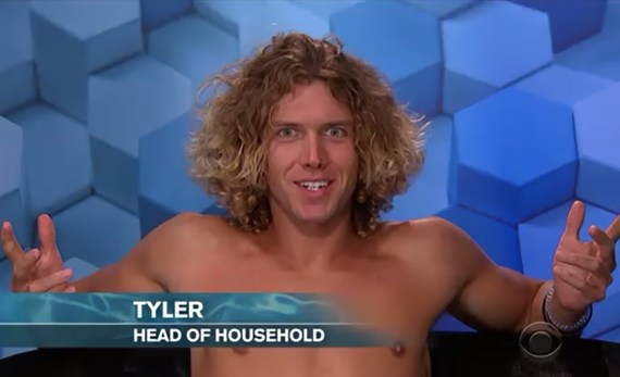 Tyler Crispen HOH Big Brother 20