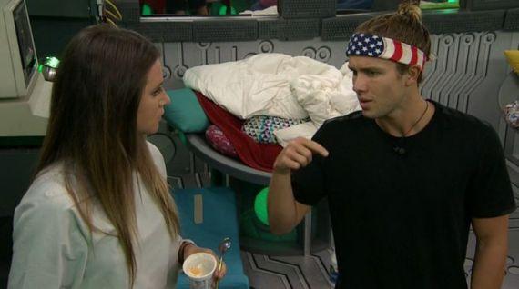 Big Brother 20-Angela Rummans and Tyler Crispen