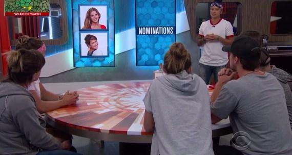 Big Brother 20 Block Nominations Week 11