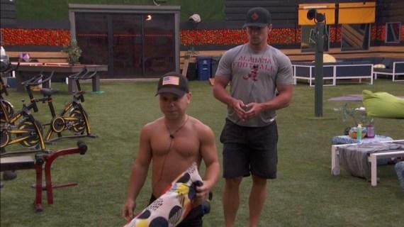 Big Brother 20 Brett Robinson and JC Mounduix