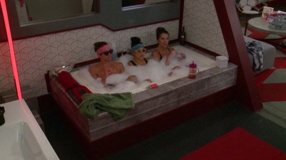 Big Brother 20 Kaycee Clark, Tyler Crispen, and Angela Rummans