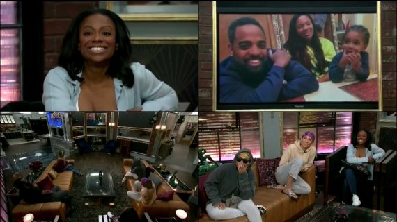 Celebrity Big Brother 2 Houseguests get Videos from Home
