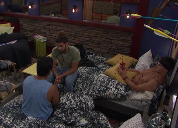 Big Brother 21 Ovi Kabir, Jack Matthews, and Jackson Michie