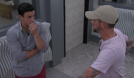 Big Brother 23 Frenchie and Brent Talking