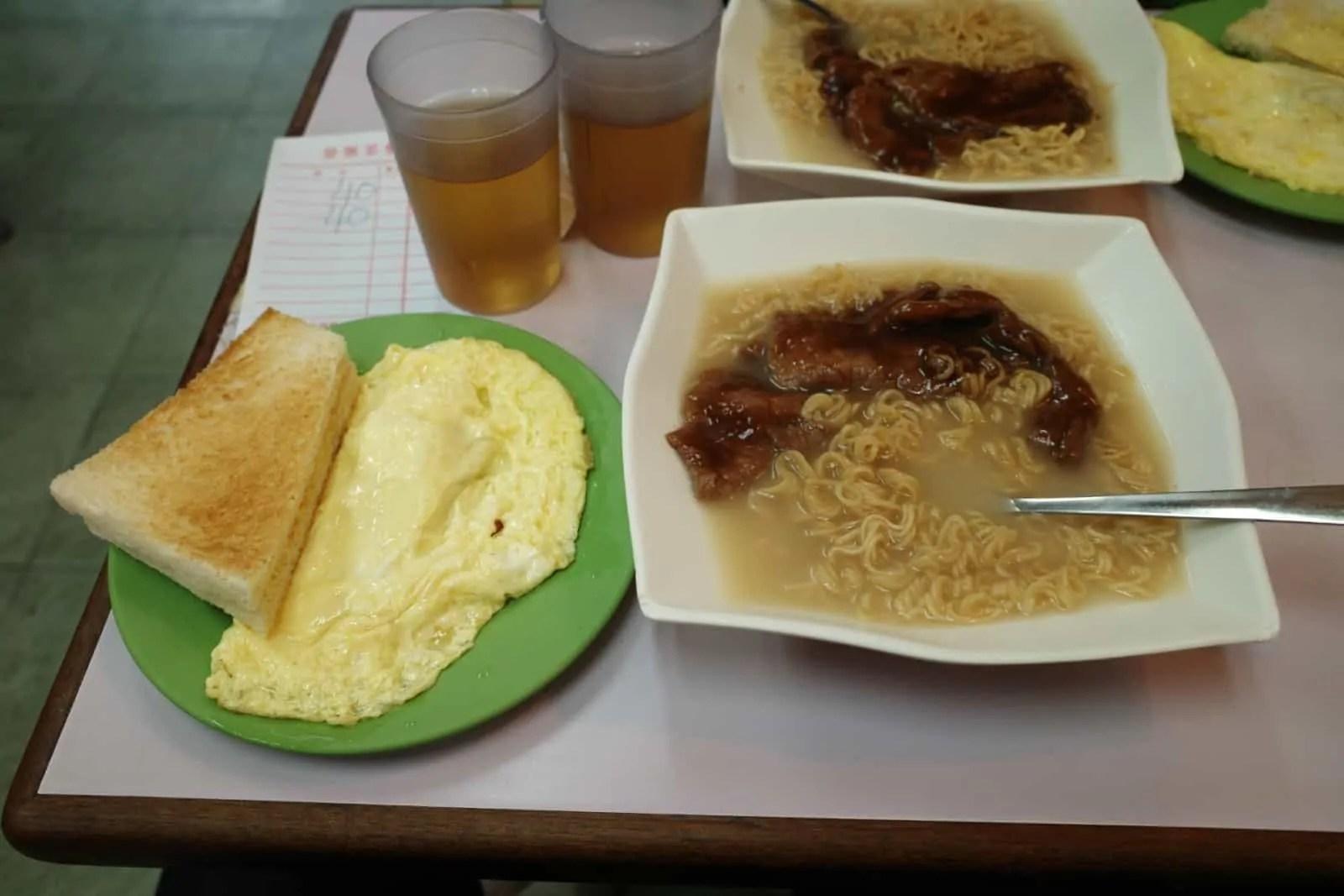 沙田黃店:榮樂茶餐廳-香港嘅古早味舊港式茶記 - 大兄臺