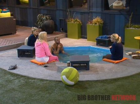 Big Brother 14 20120713 - Hot tub talk
