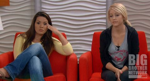 Britney and Danielle on Big Brother 14