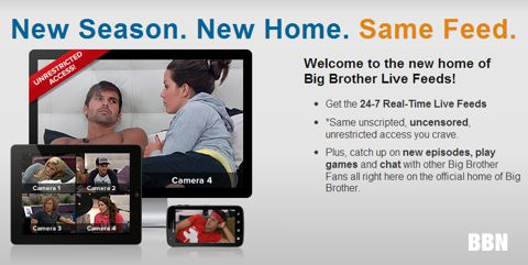 Big Brother 15 Live Feeds on CBS