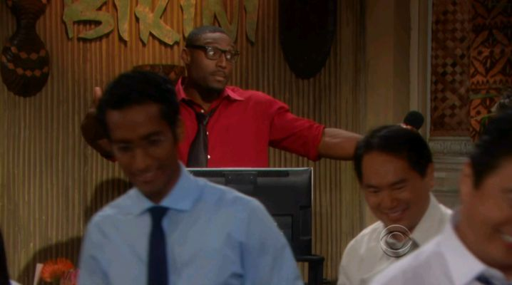 Howard Overby as a DJ on Bold & Beautiful