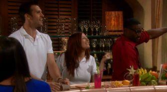 Brendon, Rachel, & Howard on Bold & Beautiful