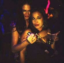 Kaitlin and Jessie out at the club