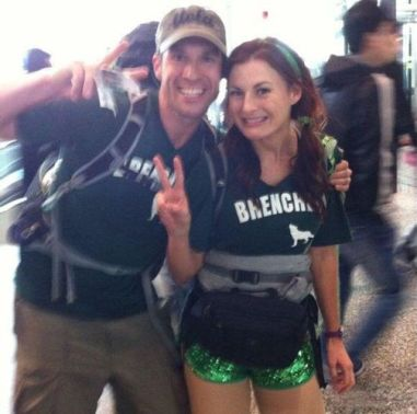 Brenchel on The Amazing Race 24